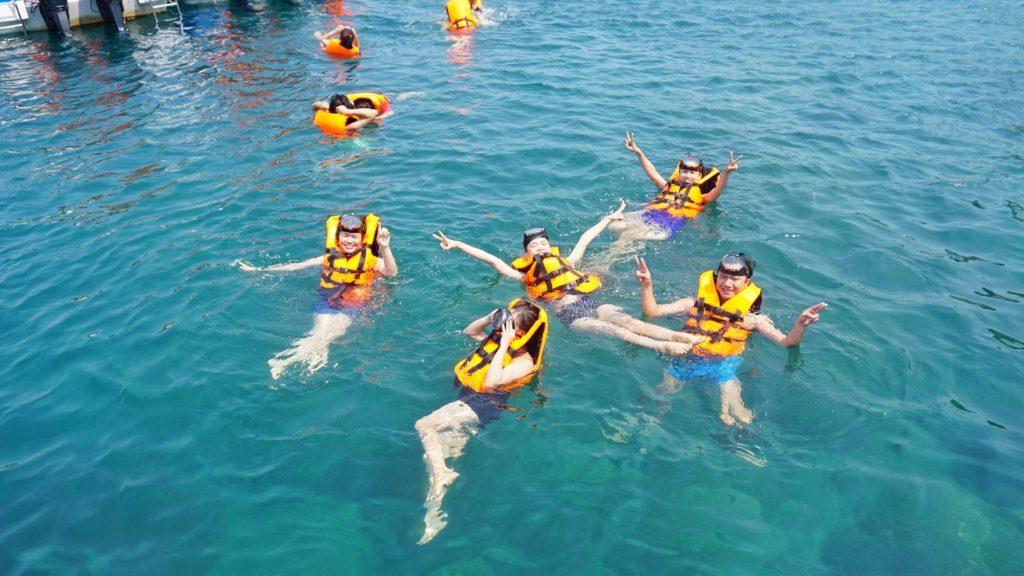 Chương trình lặn ngắm san hô và khám phá đảo cù lao chàm bằng tàu gỗ