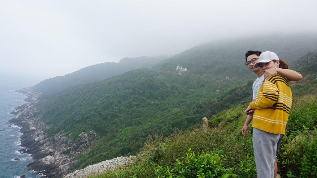 Ngắm một bình thật đẹp tại Eo Gió Cù Lao