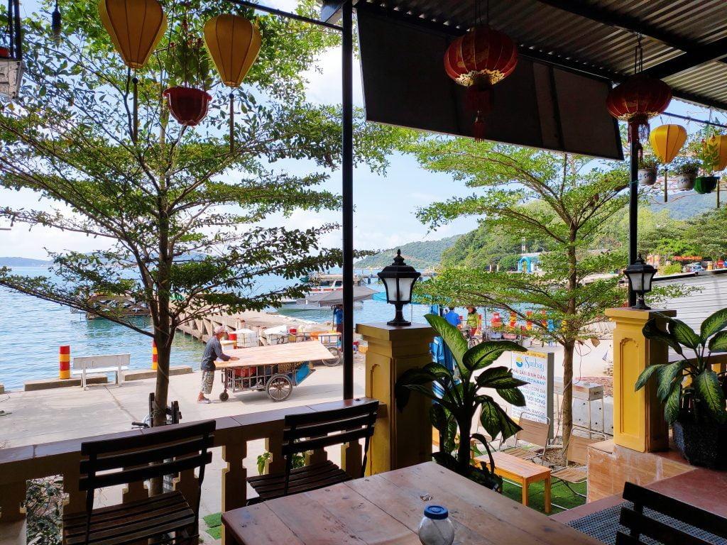 cafe sáng cùng sunbay